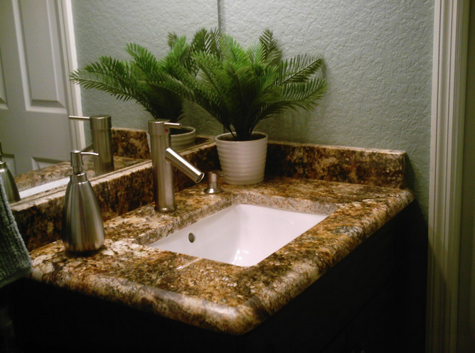 Inspirations with Granite Bathroom Designs