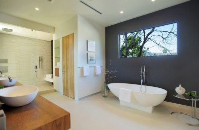 clean shiny and spacious bathroom in sydney