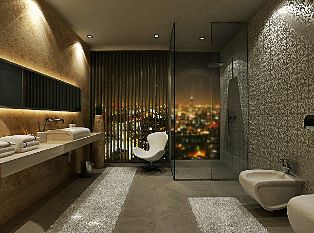 modern bathroom designs for small spaces 2017