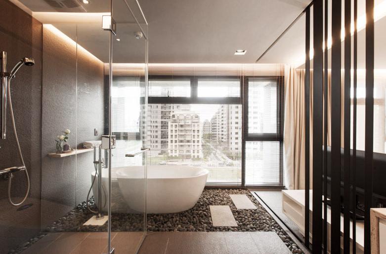 modern sleek design of a bathroom in sydney