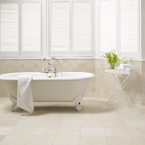 beige marble tile ideas for small and large bathrooms