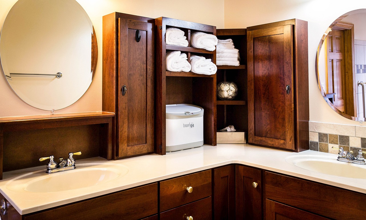 Utilize Bathroom Storages
