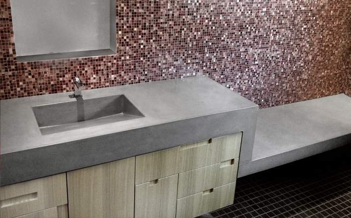 Different Shapes Concrete Sinks