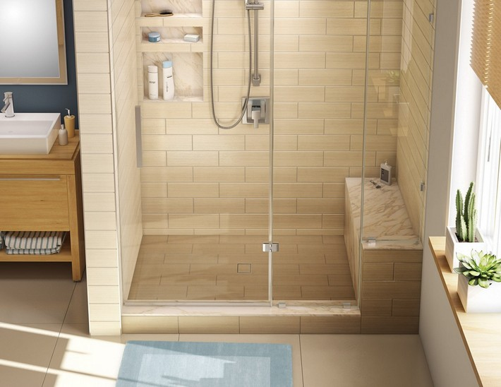 Shower Area for Bathrooms